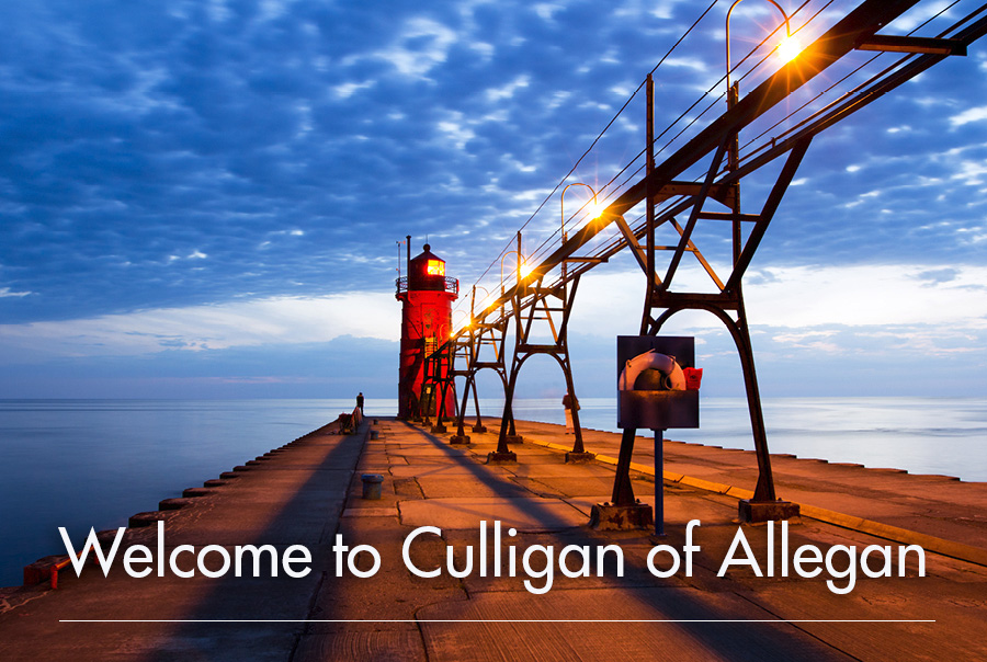 Welcome to Culligan of Allegan, MI